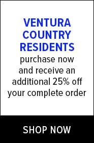 Ventura County Residents get 25% off